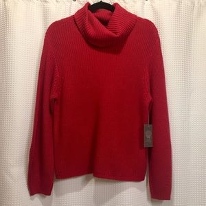 NWT Vince Camuto Red Sweater Sz XS
